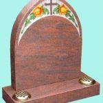Polished Gothic Headstone
