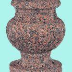 Memorial vase urn shape